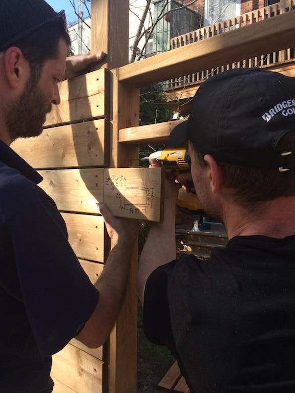 fabriquer une porte de clôture