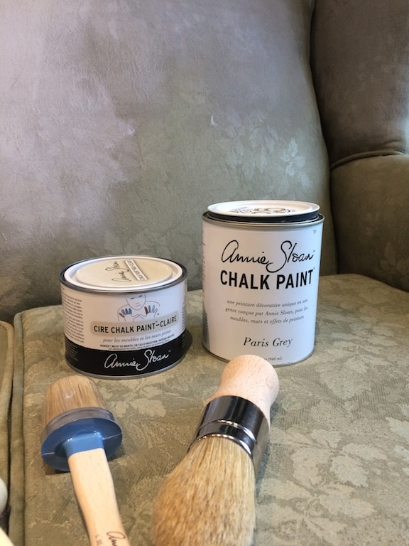 peindre sofa chalk paint