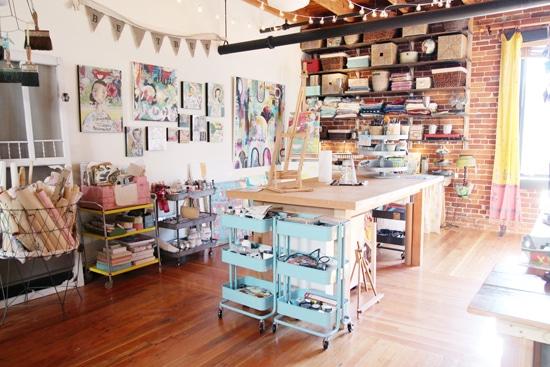 Comment aménager un atelier d'artiste à la maison avec un petit budget
