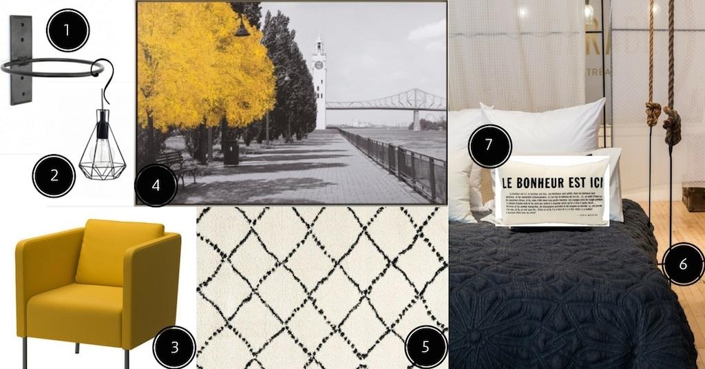 Planches d 39 inspiration chambre d conome for Chambre urbaine