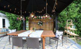 Visite Déconome d'un patio / jardin vraiment malin