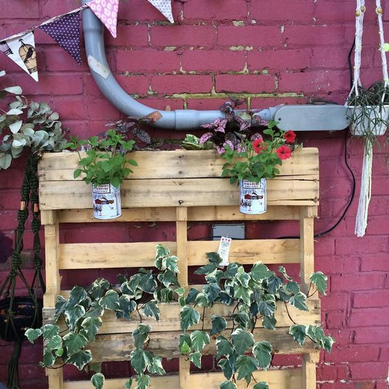 Vos id es deconome sur instagram t 2017 d conome - Jardin vertical palette ...