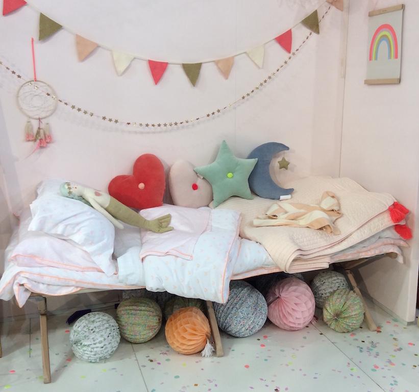 Tissus pastels tendance chambre d'enfant