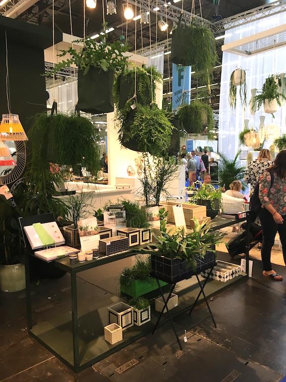plantes suspendues stand Serax salon Maison & Objet 2017