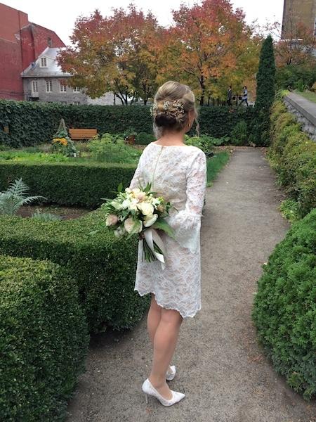 Gorgeous low budget wedding dress