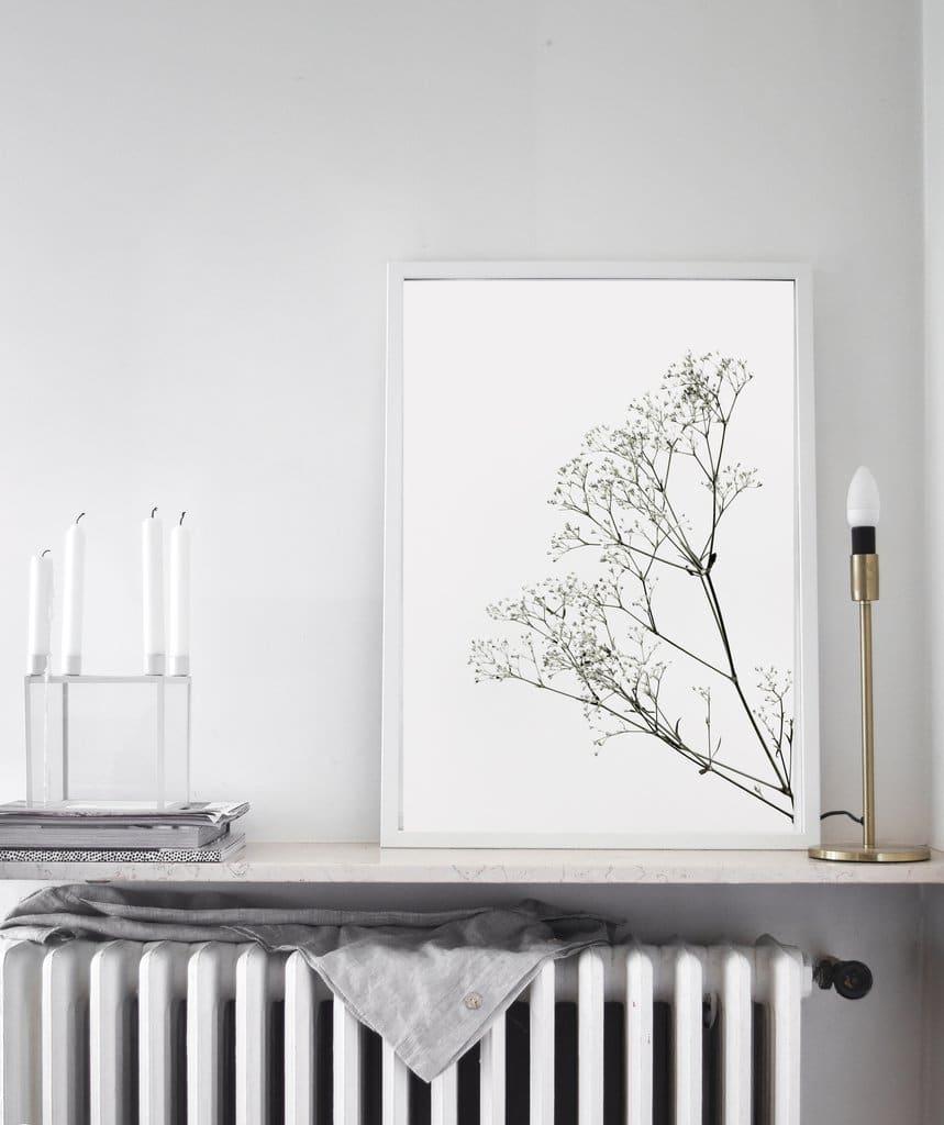 Où trouver des affiches style scandinave, photo noir et blanc, pas cher
