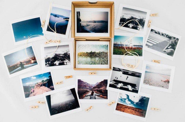 petite boite photo à offrir