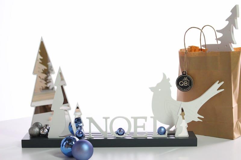 Planche à déco de Quatro Boutique en bois à customiser avec des objets ou des lettres