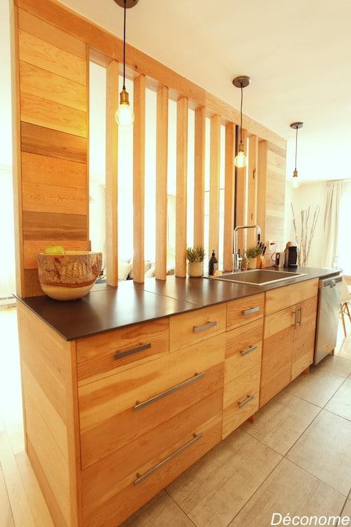 cuisine IKEA façades modifiées