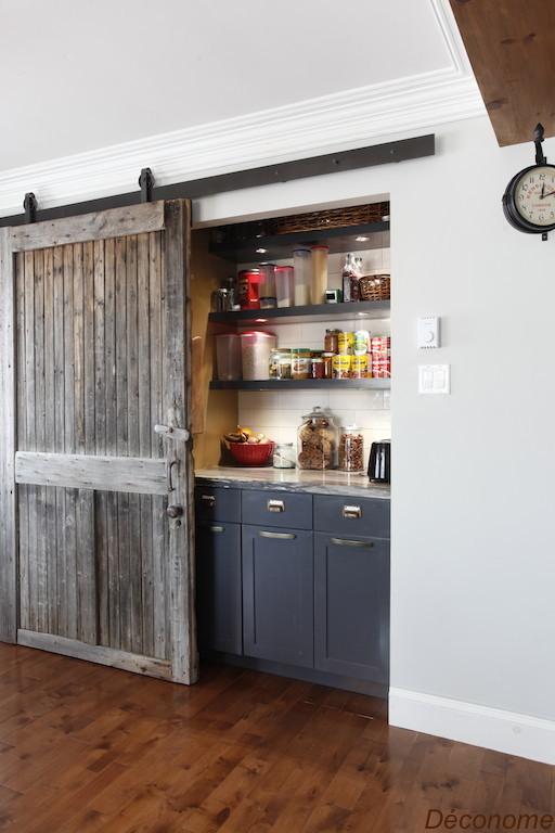 ambiance farmhouse dans la salle manger de maryl ne d conome. Black Bedroom Furniture Sets. Home Design Ideas