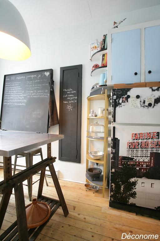 relooker frigo avec adhésif vue Farine Five Roses Montréal
