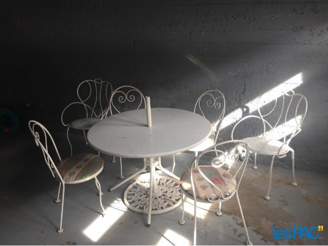Revaloriser du mobilier de jardin trouvé sur le site LesPAC - Déconome