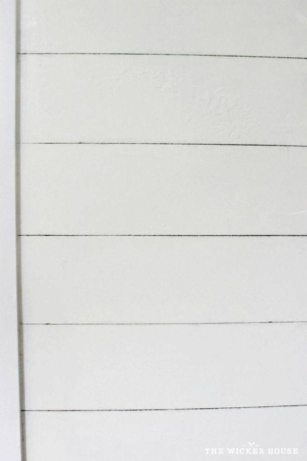 dessiner crayon mur shiplap