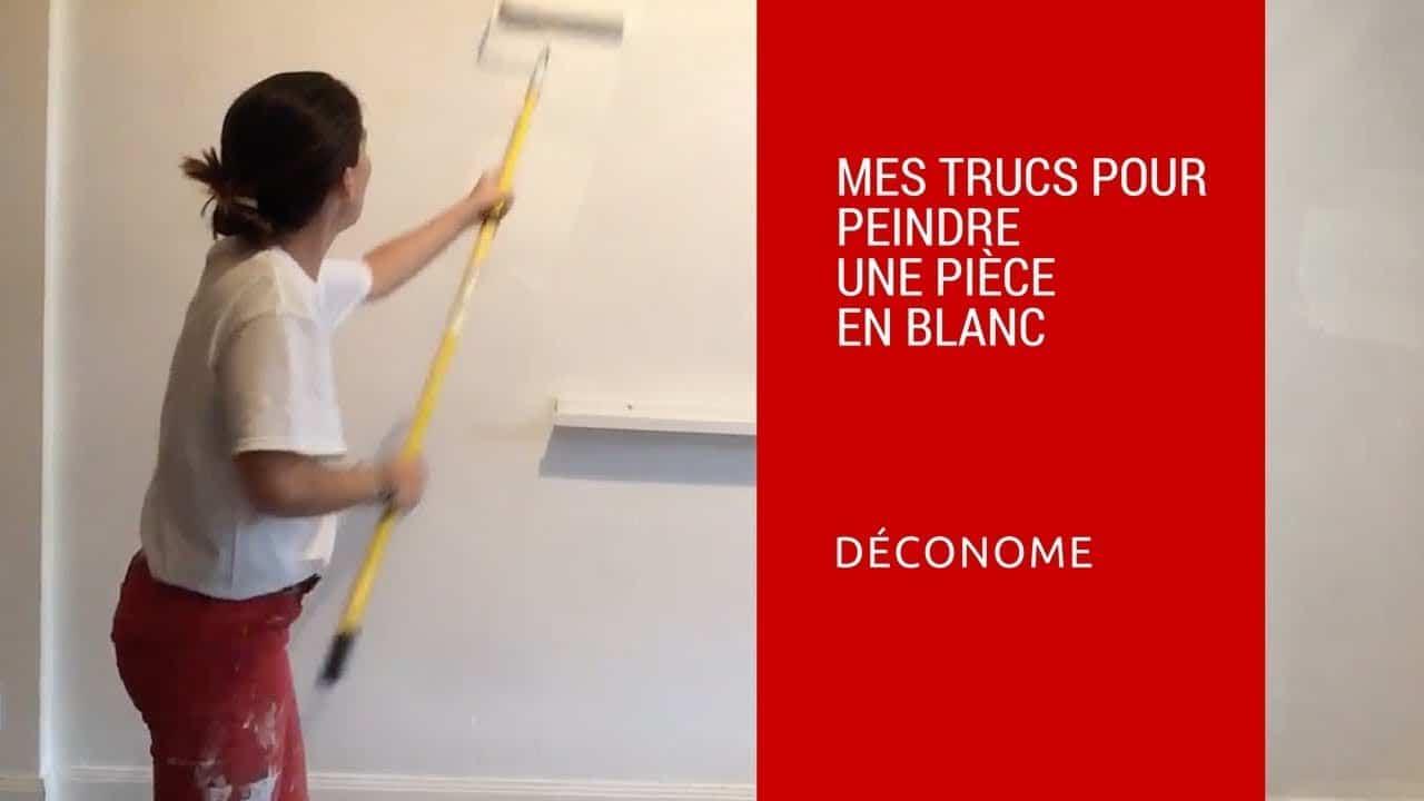 Quel Mur Peindre En Couleur Salon comment peindre une pièce en blanc ? - déconome
