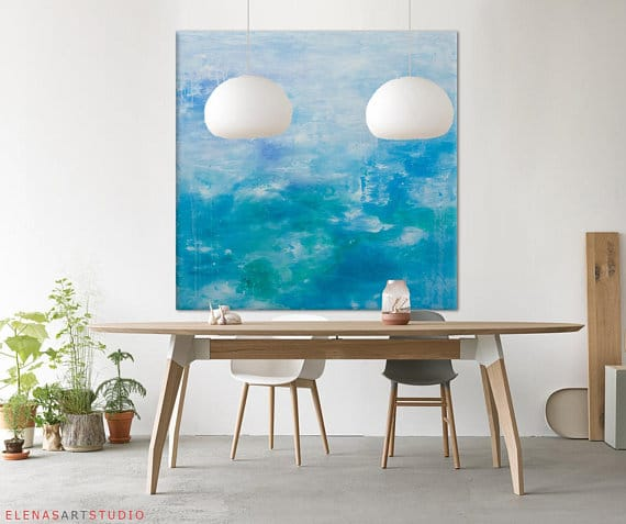 s lection d 39 oeuvres d 39 art tr s grand format abordables sur etsy d conome. Black Bedroom Furniture Sets. Home Design Ideas