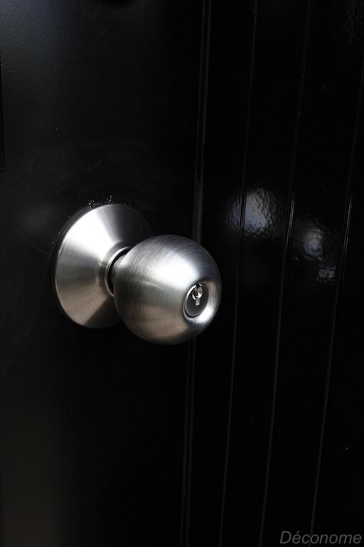 Poignée shlage pour transformer une porte