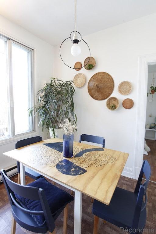DIY table en contreplaqué peinte / DIY plywood table with paint