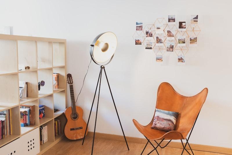 Impression coussin et polaroids vintage par CEWE dans sa déco