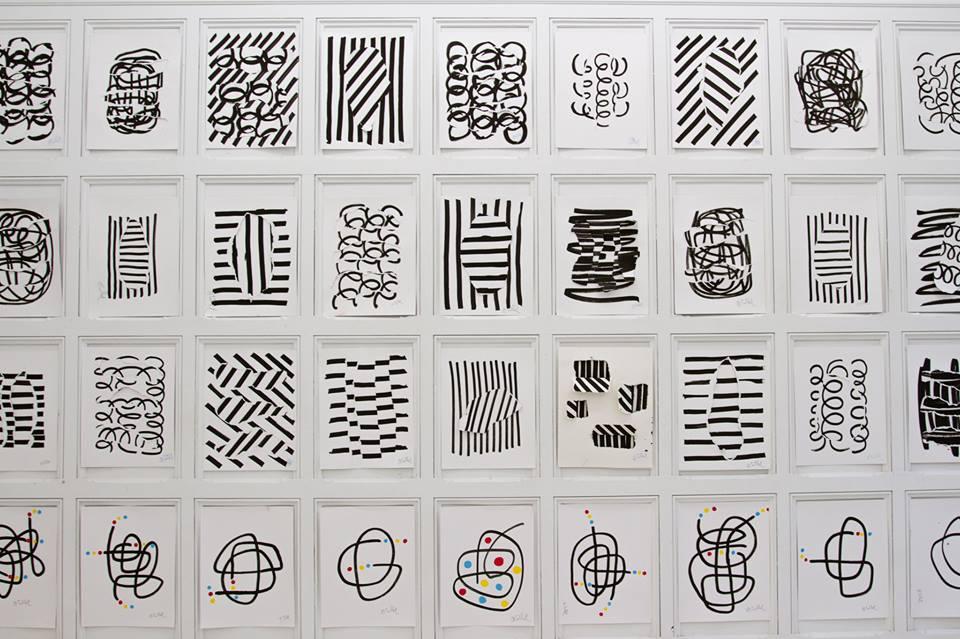 Oeuvres d'art facile à fair soi-même selon les conseils d'Hervé Tullet