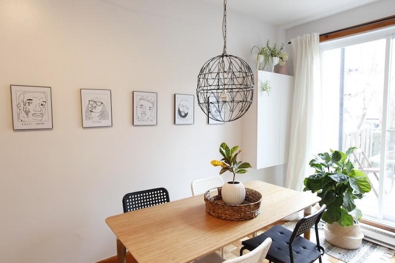 DIY fabriquer luminaire avec jardinière métal