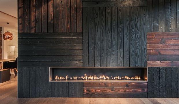 Shou Sugi Ban wood