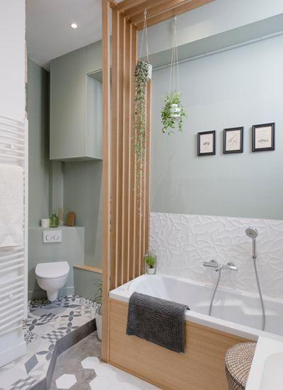 claustra bois salle de bain