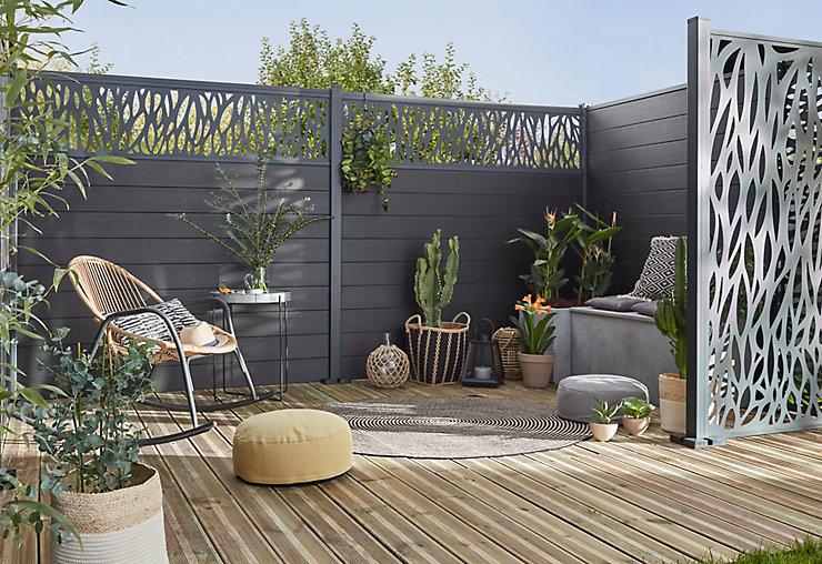 système de poteaux pour clôtures à assembler soi même DIY