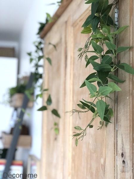 plant de misère vert artificiel décoration