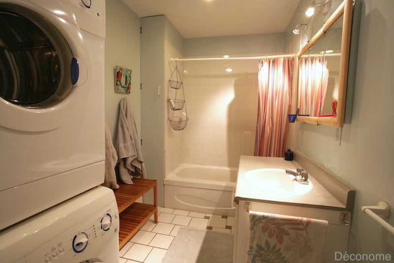 avant / après rénovation salle de bain