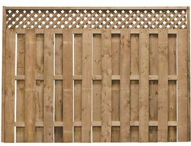 clôture pré assemblée en bois