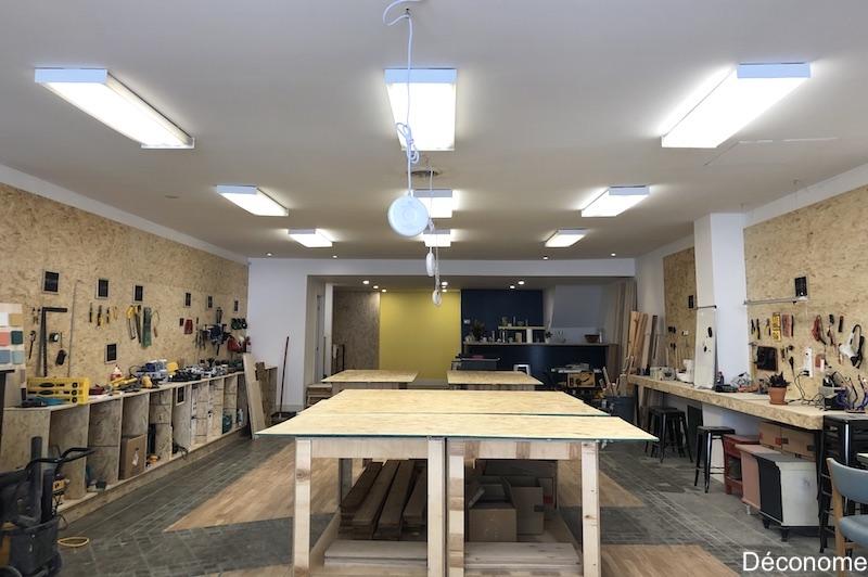 atelier de bricolage et de coworking, makerspace Montréal - Les Affutés