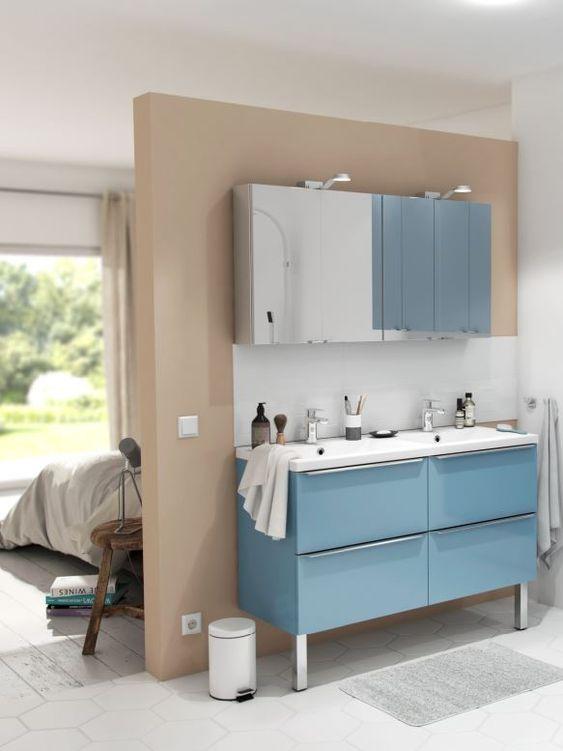 8 conseils pour créer une salle de bain ouverte sur la ...
