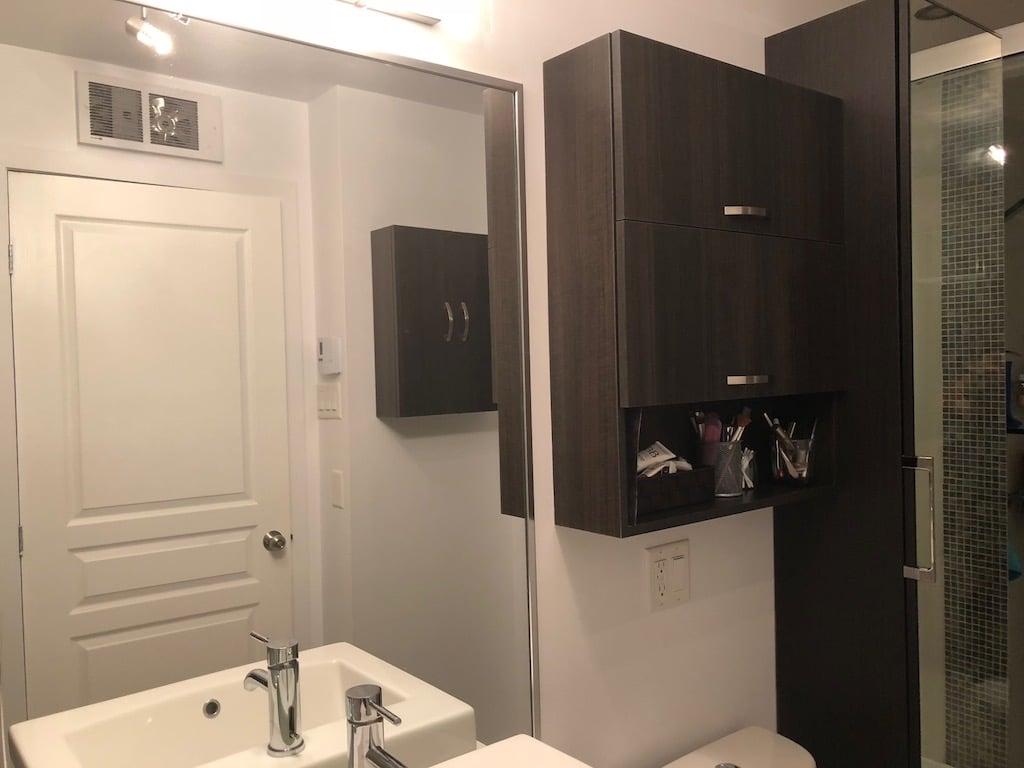 Cacher Trou Carrelage Salle De Bain la salle de bain beige et marron de nathalie métamorphosée