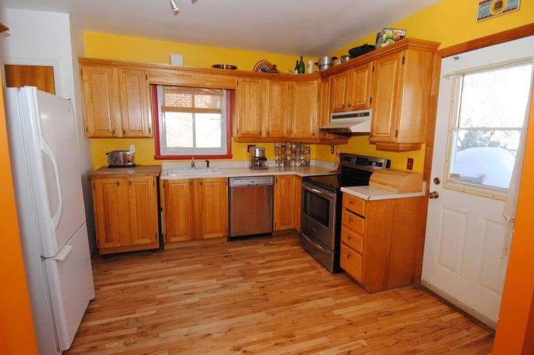 vieille cuisine armoire en bois transformation