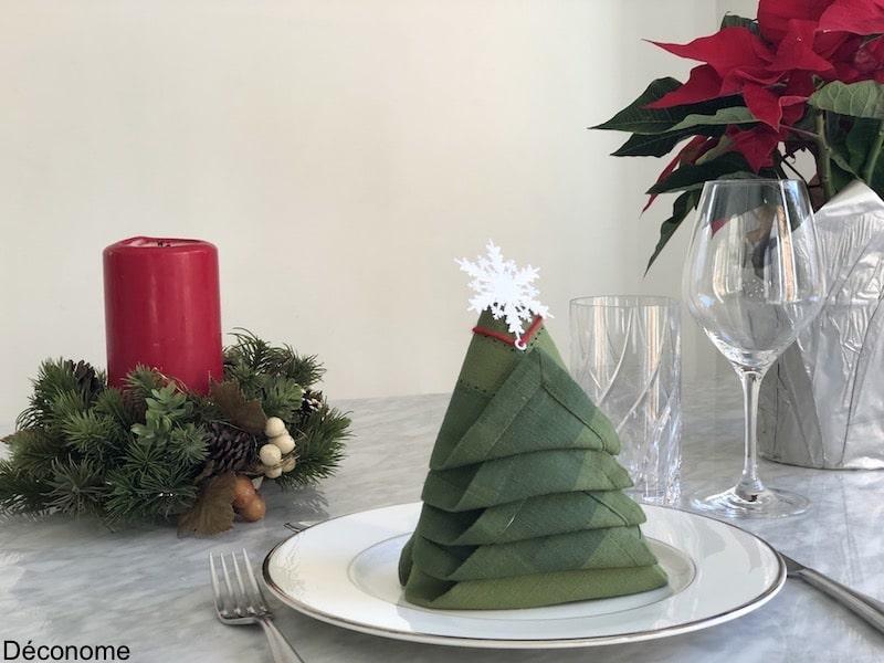 Pliage De Serviette En Sapin Une Idee Facile Pour Noel