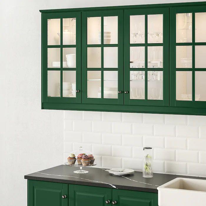 cuisine Bodbyn IKEA vert chasseur tendance déco 2020