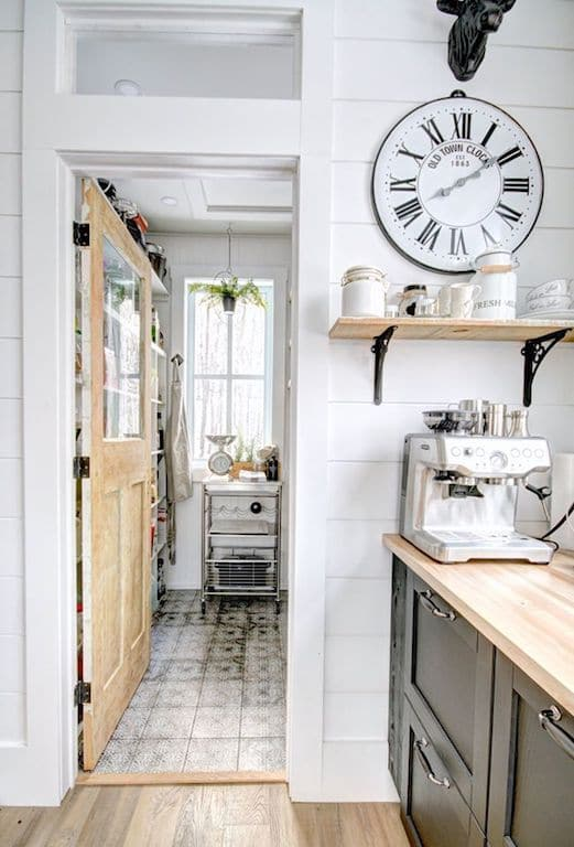 garde manger pantry farmhouse shabby chic