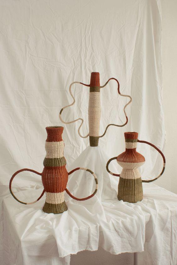vases textiles Charles Antoine Chappuis
