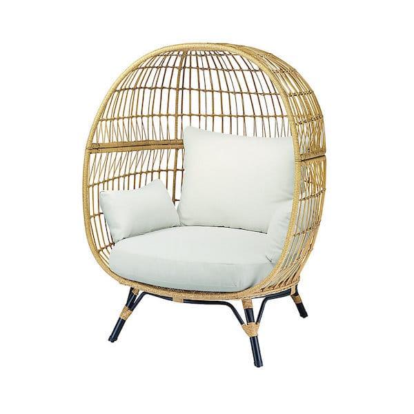 chaise de jardin cocon bambou