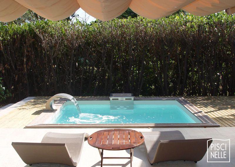 mini piscine XXS en coque de polyester