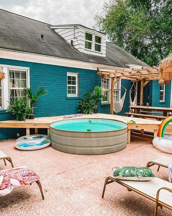 mini piscine stock tank pool