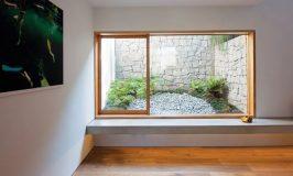 grande fenêtre sous-sol