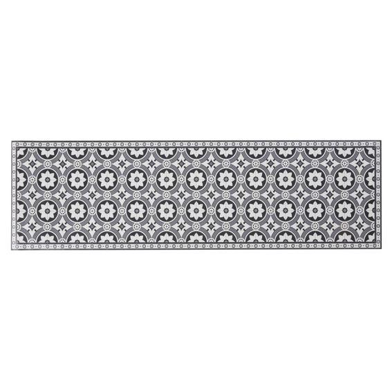 tapis vinyle motif carreaux ciment pas cher