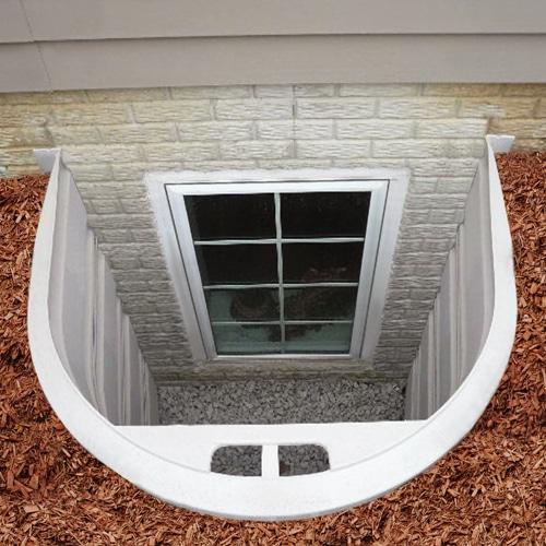 puits de fenêtre StakWEL par Bilco