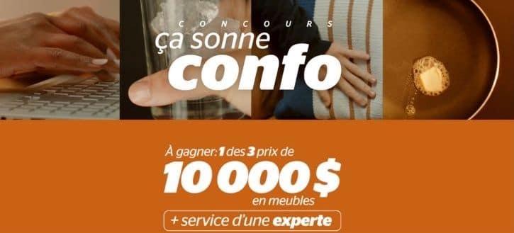 concours Brault & Martineau ça sonne confo