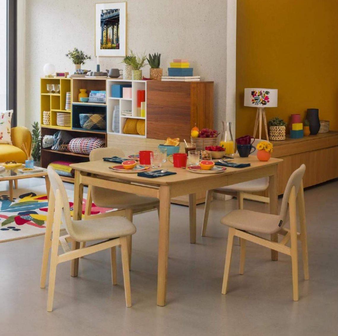 table salle à manger bois