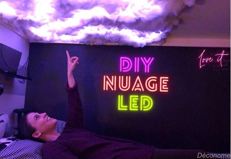 DIY plafond de nuage LED / how to make a LED cloud ceiling