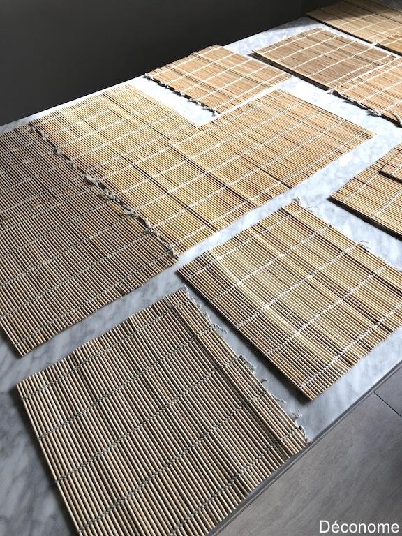 bâtonnets bambou pas cher