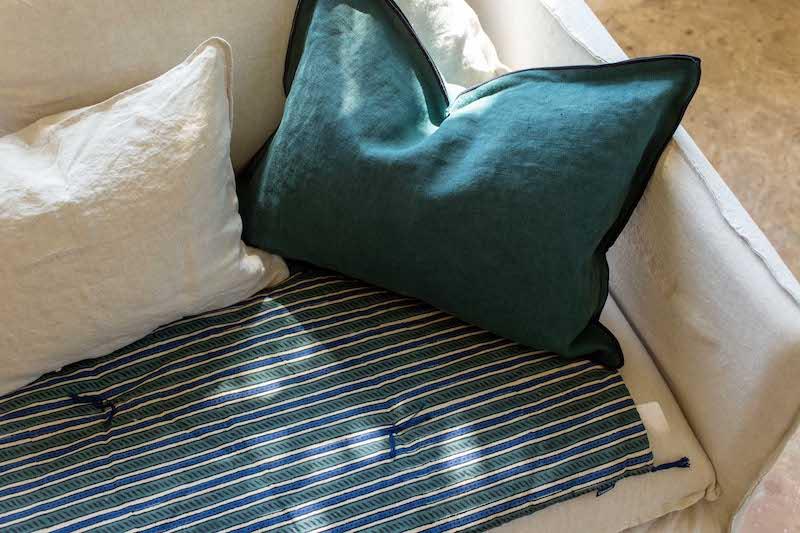 matelas d'assise sofa cover Caravane Paris
