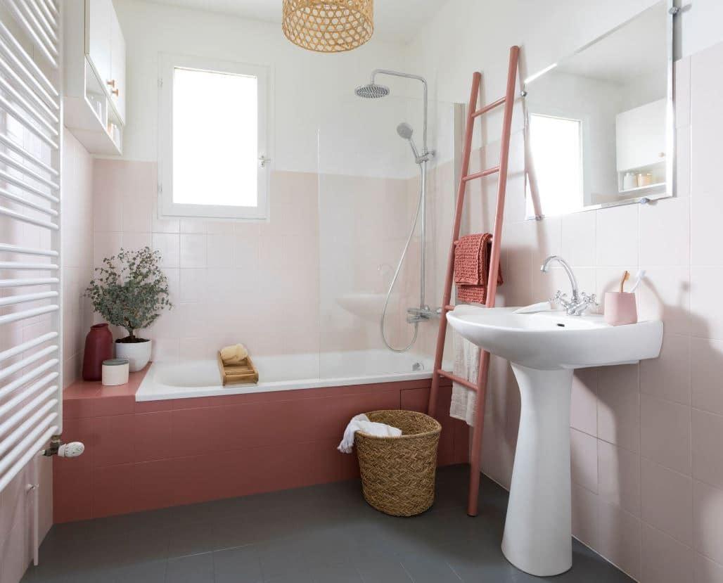 peinture spéciale pour carrelage de salle de bain V33 Déco Lab